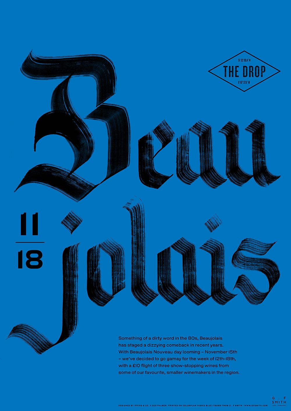 Beaujolais Poster